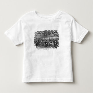 La Courtille, popular dance, engraved by Yves Toddler T-Shirt