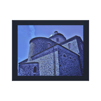La Crosse Church Canvas Print