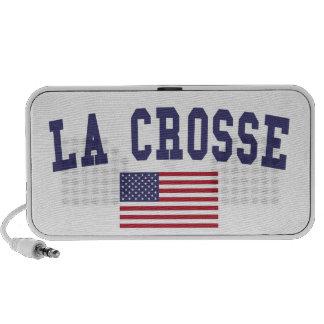 La Crosse US Flag iPod Speaker