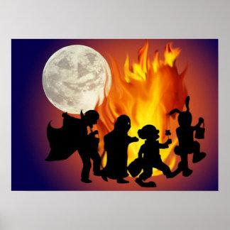La danse d Halloween - Posters