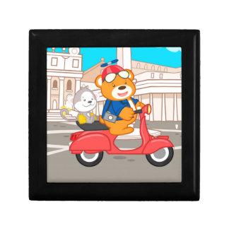 La Dolce Vita Romana - Nano Bear & Junior Monkey Gift Box