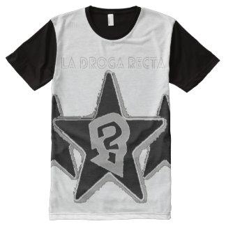la droga recta All-Over print T-Shirt