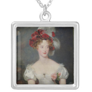 La Duchesse de Berry  c.1825 Silver Plated Necklace
