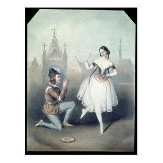La Esmeralda Carlotta Grisi Jules Perrot Post Cards