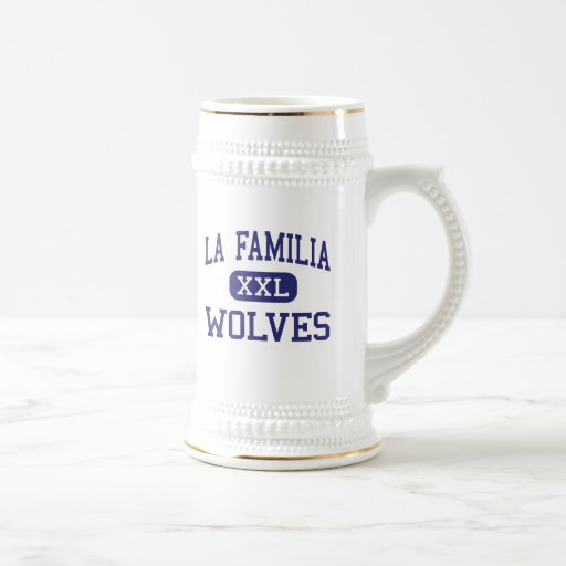 La Familia - Wolves - High - Thermal California Coffee Mug
