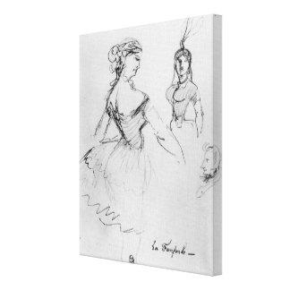 La Fanfarlo Canvas Print