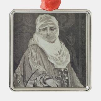 La Favorita'- Woman with a Veil Christmas Ornament