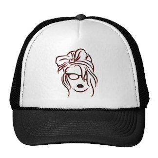 La femme trucker hat