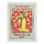 La Fiesta de Los Angeles 1897 Posters