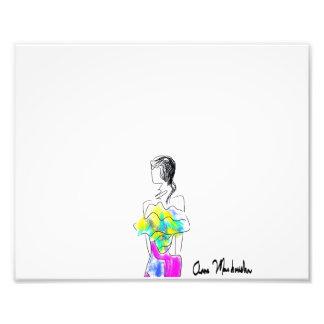 La Fleur Photo Print