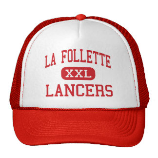 La Follette - Lancers - High - Madison Wisconsin Trucker Hat