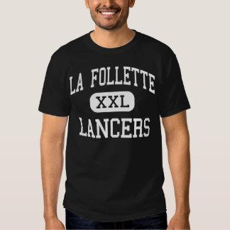 La Follette - Lancers - High - Madison Wisconsin Tee Shirts