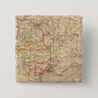 La France 1223 a 1270 15 Cm Square Badge