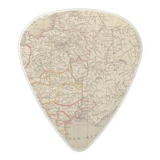 La France 1223 a 1270 Acetal Guitar Pick