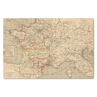 La France 1223 a 1270 Tissue Paper