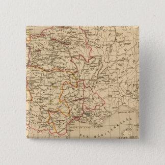 La France 1364 a 1380 15 Cm Square Badge