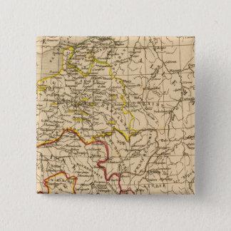 La France 1380 a 1422 15 Cm Square Badge