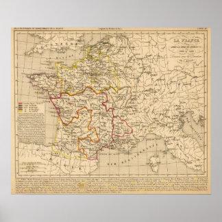 La France 1380 a 1422 Poster