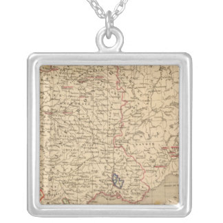 La France 1483 a 1547 Silver Plated Necklace
