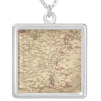 La France 1643 a 1715 Silver Plated Necklace