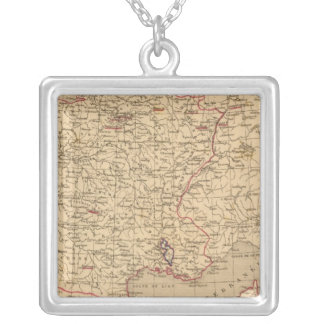 La France 1715 a 1774 Silver Plated Necklace