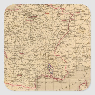 La France 1715 a 1774 Square Sticker
