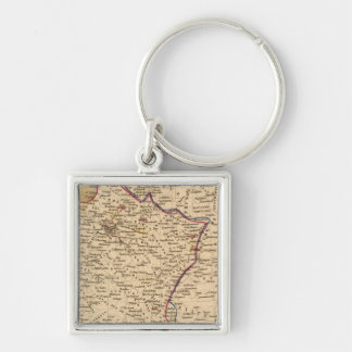 La France 1814 a 1840 Key Ring