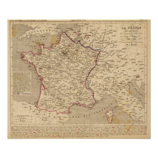 La France 1814 a 1840 Poster