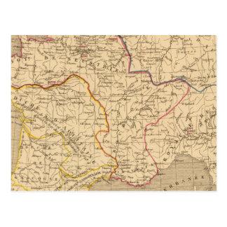 La France 613 a 768 Postcard