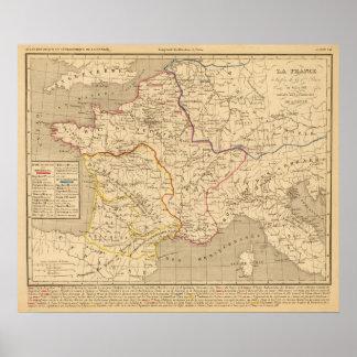 La France 613 a 768 Poster