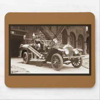 La France Fire Truck 1924 Mouse Mat