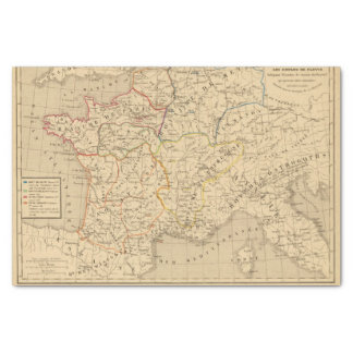 La France sous les enfans de Clovis Tissue Paper