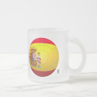 La Furia Roja – Spain Fotball Frosted Glass Mug