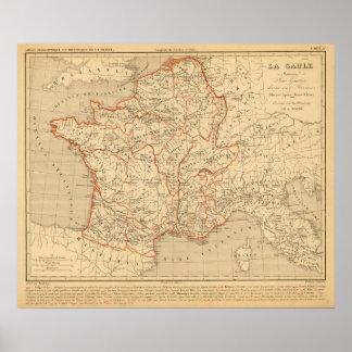 La Gaule Romaine Poster