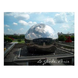 La Gèode Paris Postcards
