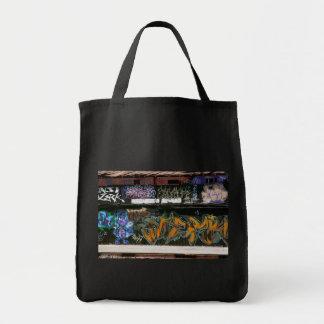 LA Graffiti Grocery Tote Bag