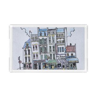 La Grand Rue | Boulogne-Sur-Mer, France Acrylic Tray