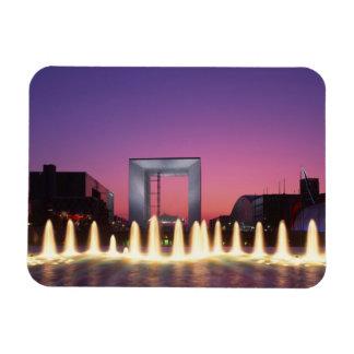 La Grande Arche, La Defense, Paris, France Rectangular Photo Magnet