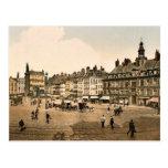 La Grande Place, Lille, France vintage Photochrom
