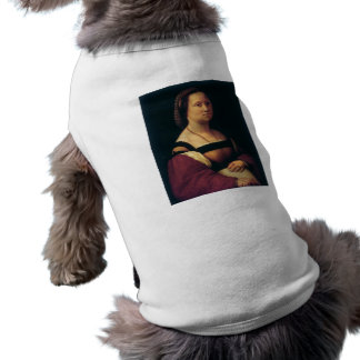 la gravida by Raffaello Sanzio da Urbino Dog T-shirt