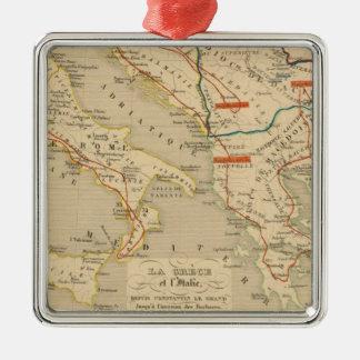 La Grece et l'Italie, 306 a 410, ap JC Christmas Ornament