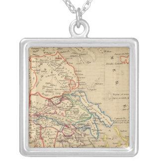 La Grece et partie de l'Asie Mineure, av JC 1190 Silver Plated Necklace