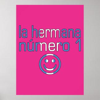 La Hermana Número 1 - Number 1 Sister Guatemalan Print