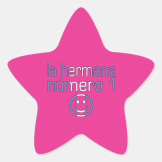 La Hermana Número 1 - Number 1 Sister Guatemalan Stickers