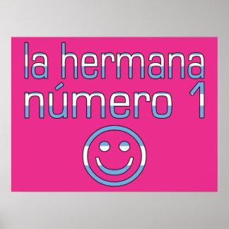 La Hermana Número 1 - Number 1 Sister in Argentine Poster