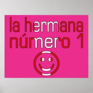La Hermana Número 1 - Number 1 Sister in Peruvian Posters