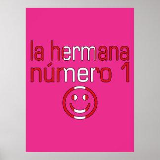 La Hermana Número 1 - Number 1 Sister in Peruvian Poster