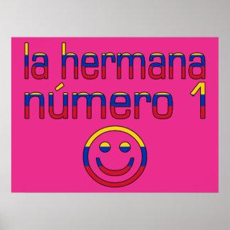 La Hermana Número 1 - Number 1 Sister in Venezuela Posters
