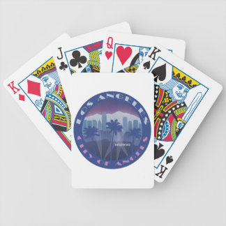 LA Hollywood cool Bicycle Poker Deck