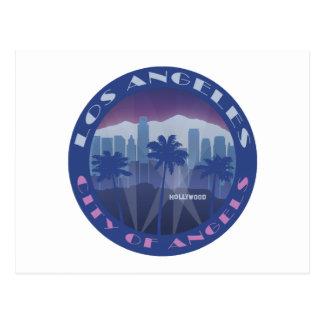 LA Hollywood cool Postcard
